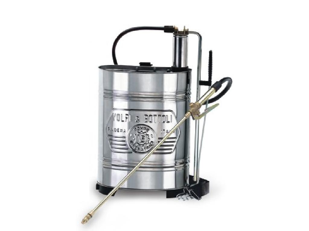 Pompa a zaino con serbatoio in Acciaio Inoxe lancia 37-190